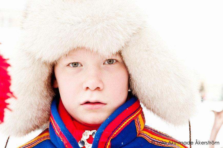Sami Boy - Portrait - Photography by Lola Akinmade
