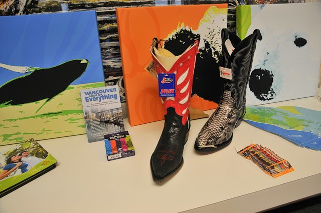 Cowboy boots - Travel Bloggers Unite (TBU) in Manchester