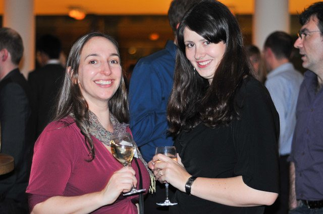 Julie and Laurel - Expats in Germany - Travel Bloggers Unite (TBU) in Manchester