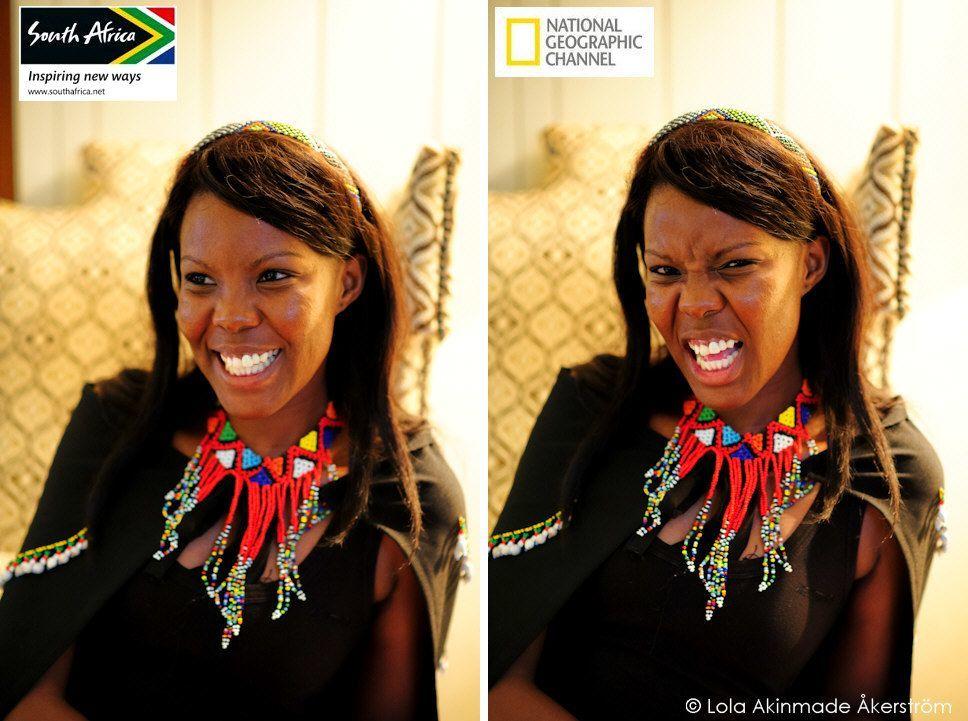 Londiwe Simelane, South African Model - Travel portrait photography by Lola Akinmade Åkerström