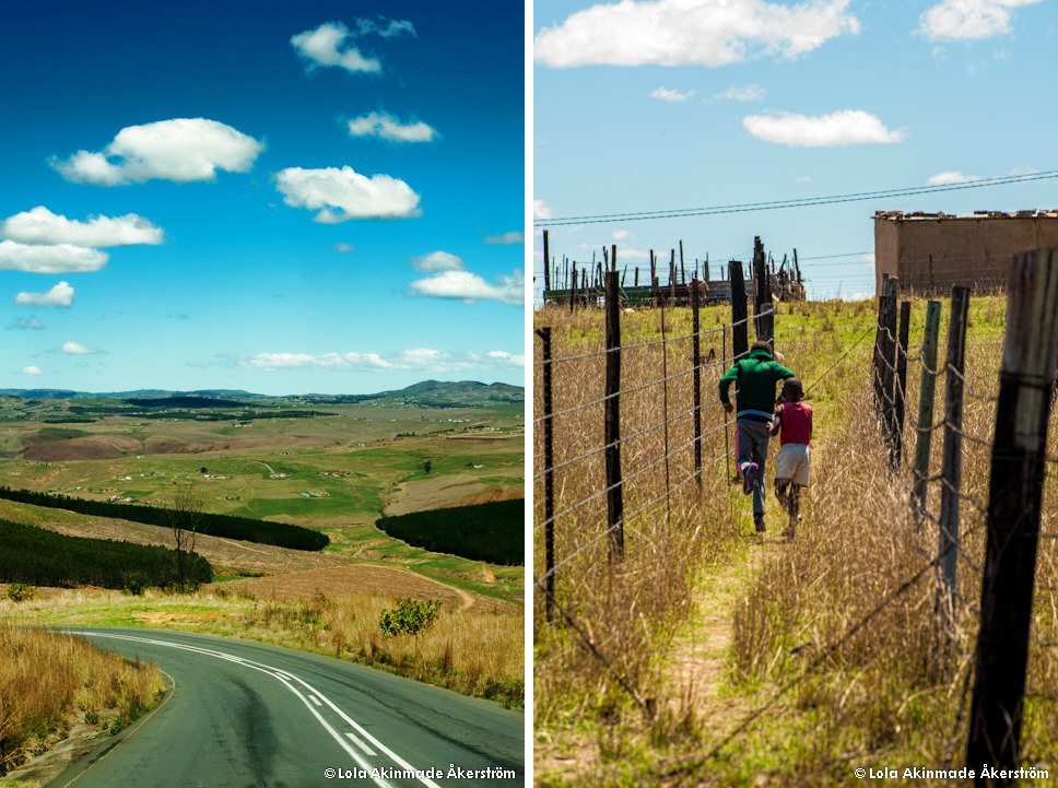 Rolling hills, Eshowe, KwaZulu-Natal, South Africa - Lifestyle and travel photography by Lola Akinmade Åkerström