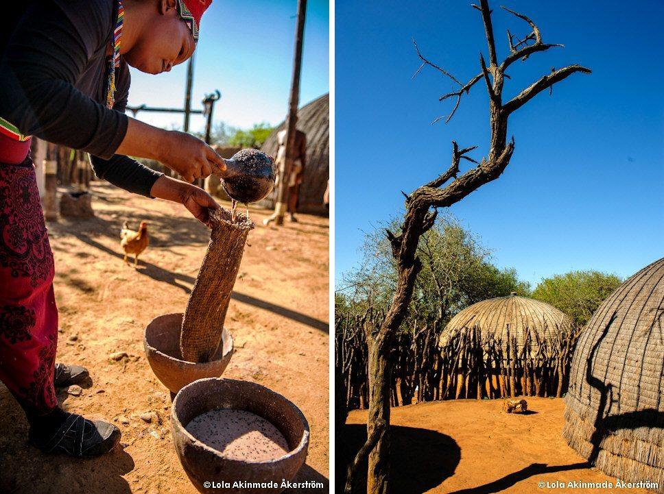 postcard - soaking up zulu culture in eshowe