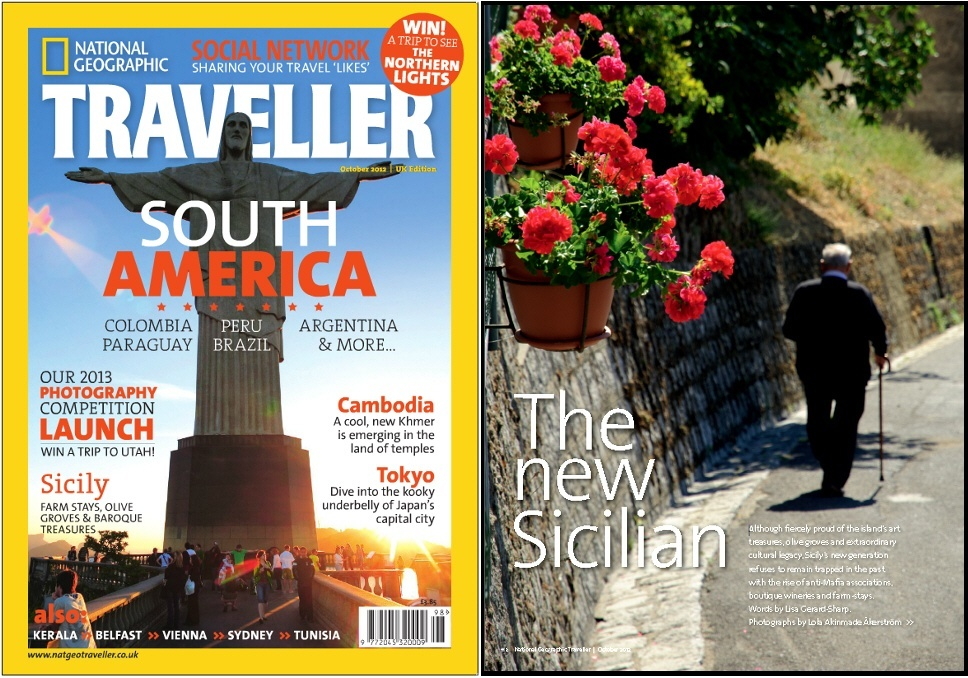 National Geographic Traveller UK October 2012- Sicily, Italy - Travel photography by Lola Akinmade Åkerström