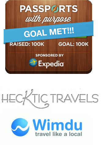 Our $500 @Wimdu Winner – @HeckticTravels – Thanks for supporting Passports with Purpose