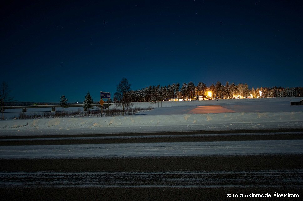 Snow and ice - Arctic Tundra - Swedish Lapland - Northern Sweden - Winter photography by Lola Akinmade Åkerström