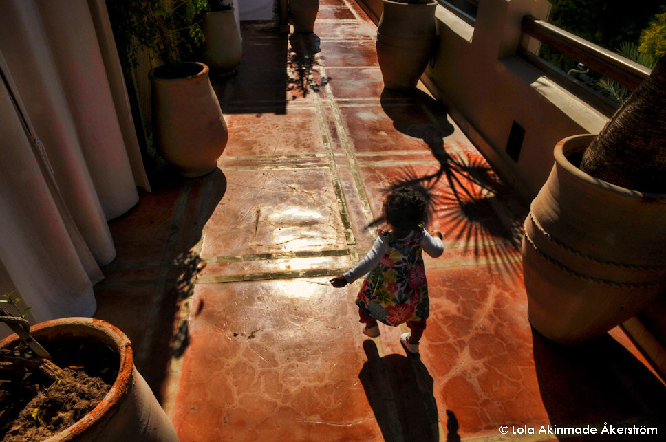 Traveling with baby - Marrakech, Morocco - Travel photography by Lola Akinmade Åkerström