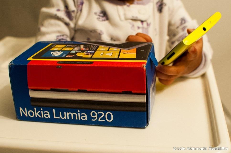 Nokia Lumia 920 - Lola Akinmade Akerstrom