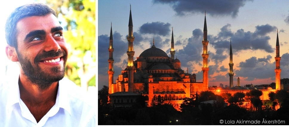 Turkish Man in Istanbul, Turkey - Travel photography by Lola Akinmade Åkerström