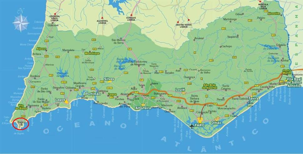 Martinhal Notes On Possibly The Best Beach In Portugal - Portugal map sagres