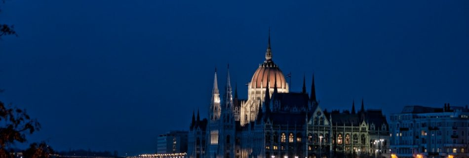 Budapest Night Photography by Lola Akinmade Akerstrom