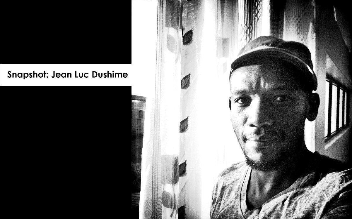 Photographer Jean Luc Dushime