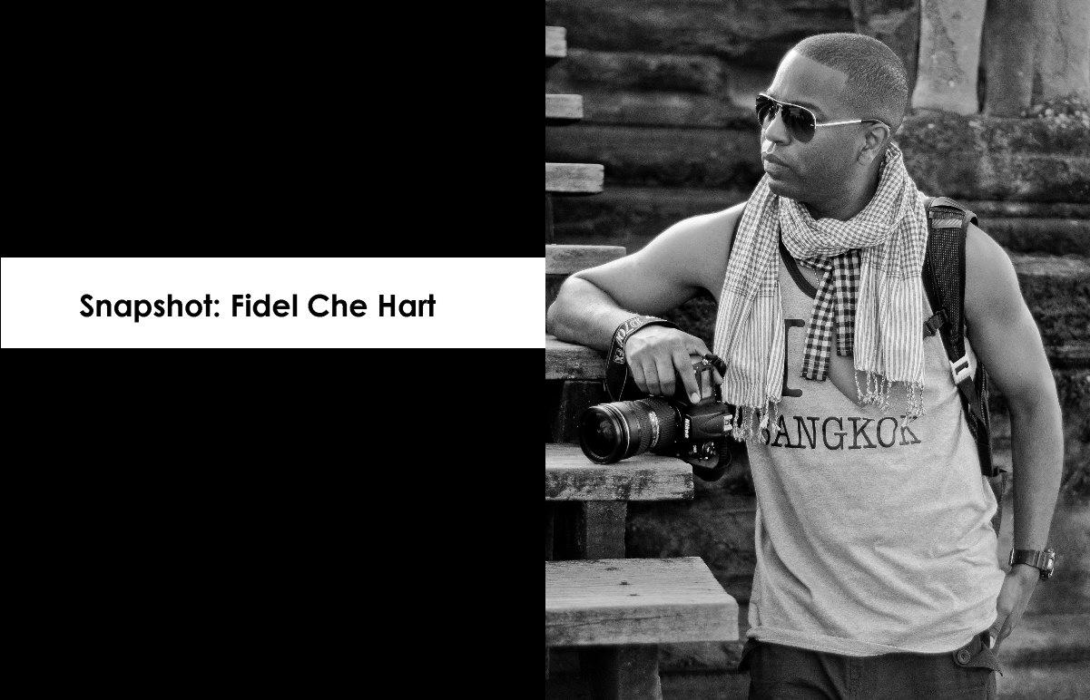 Photographer Fidel Che Hart