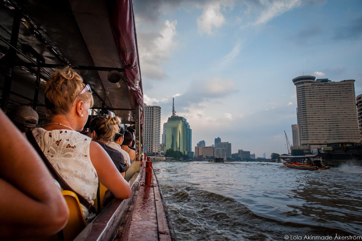 River cruise in Bangkok, Thailand