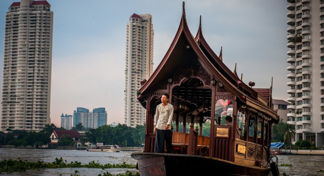 In Photos: An afternoon cruise in Bangkok