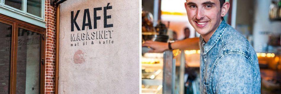 Kafe Magasinet, Gothenburg, West Sweden