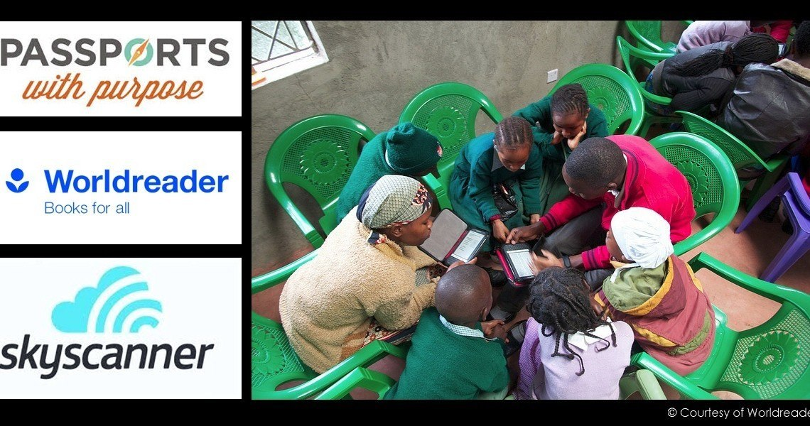 Send E-Readers to Kenya #PwP – Win EUR 300 voucher from @Skyscanner