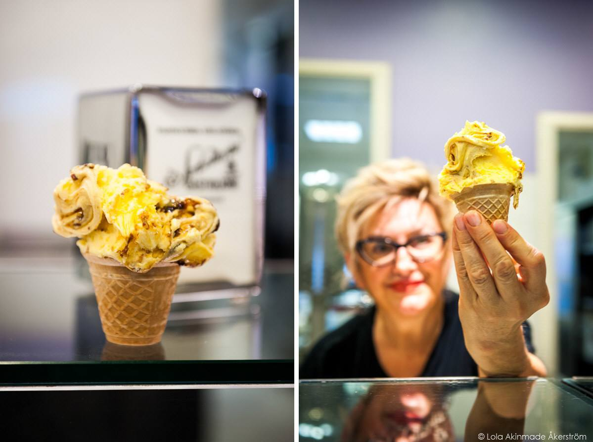 Best gelato in Bologna Italy