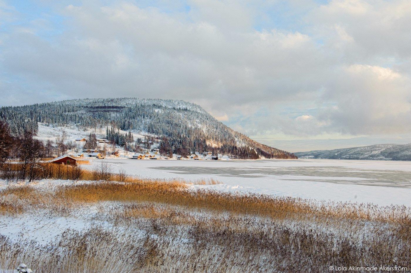 Gulf of Bothnia in Swedish Lapland