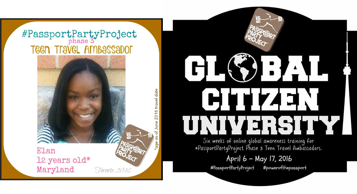 Creating Global Citizens through the Passport Party Project