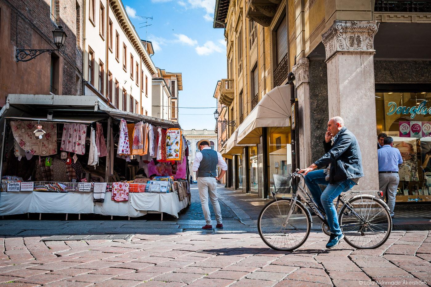 Street photos from Mantua, Italy