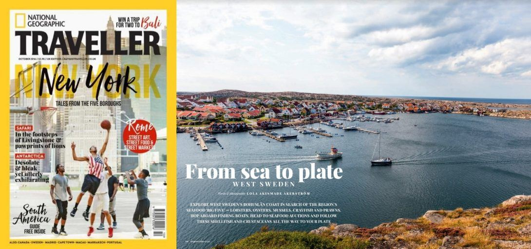 Work Update – West Sweden in National Geographic Traveller + More