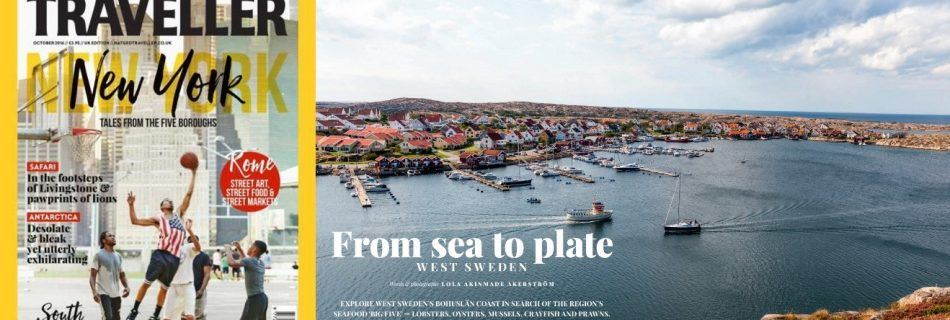 West Sweden in National Geographic Traveller