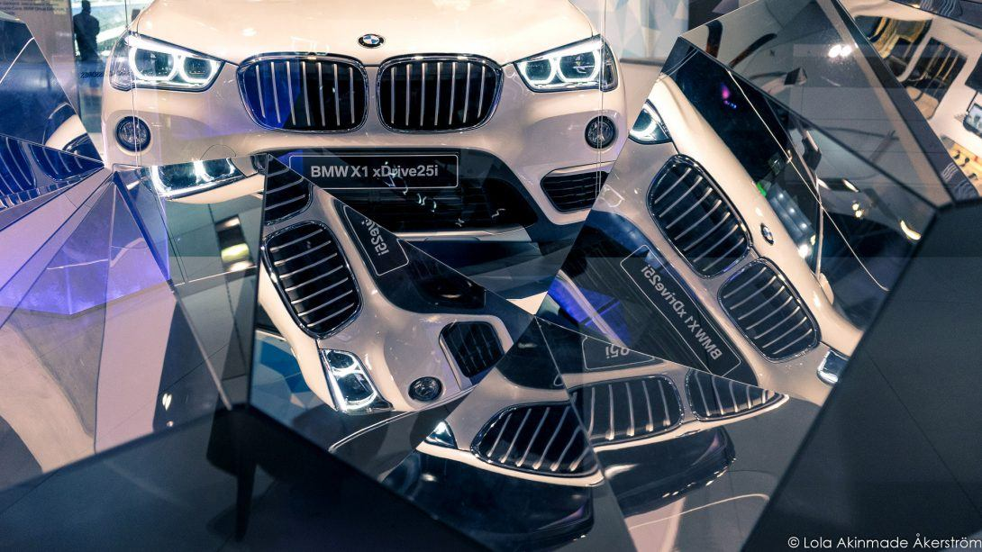 Inside the BMW Welt Experience in Munich, Germany