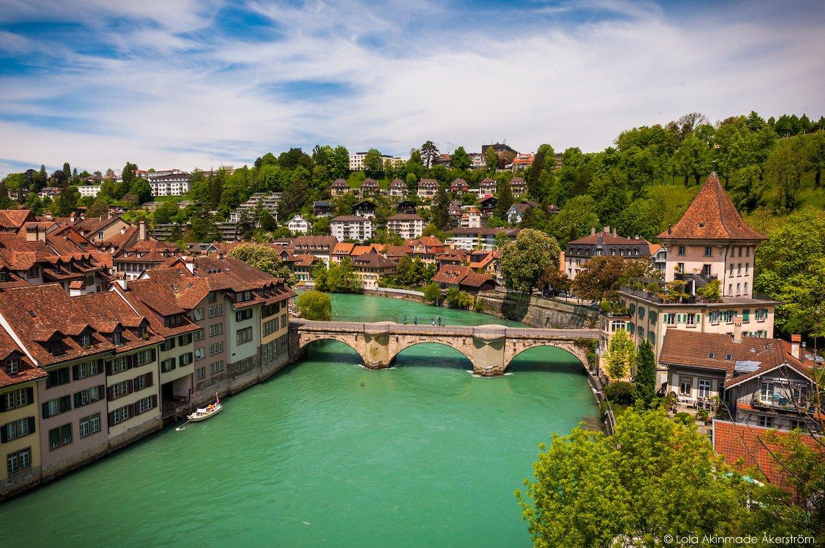 Postcard Bern Switzerland Geotraveler S Niche Lola