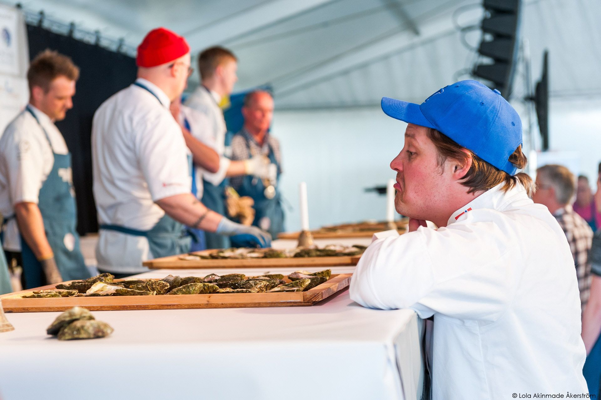 Nordic Oyster Shucking Championships in Grebbestad, West Sweden