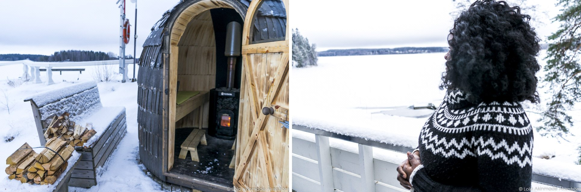 Finnish Sauna and Ice swimming in Finland