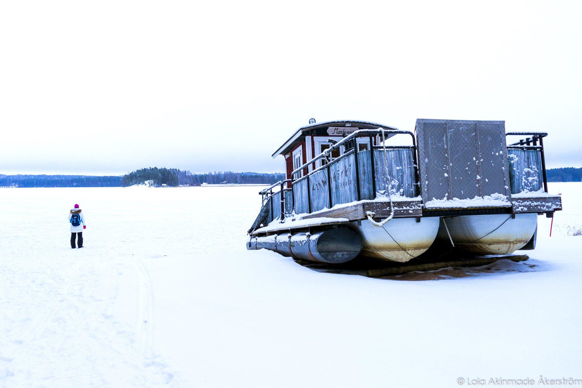 Lehmonkärki. Lahti, Finland