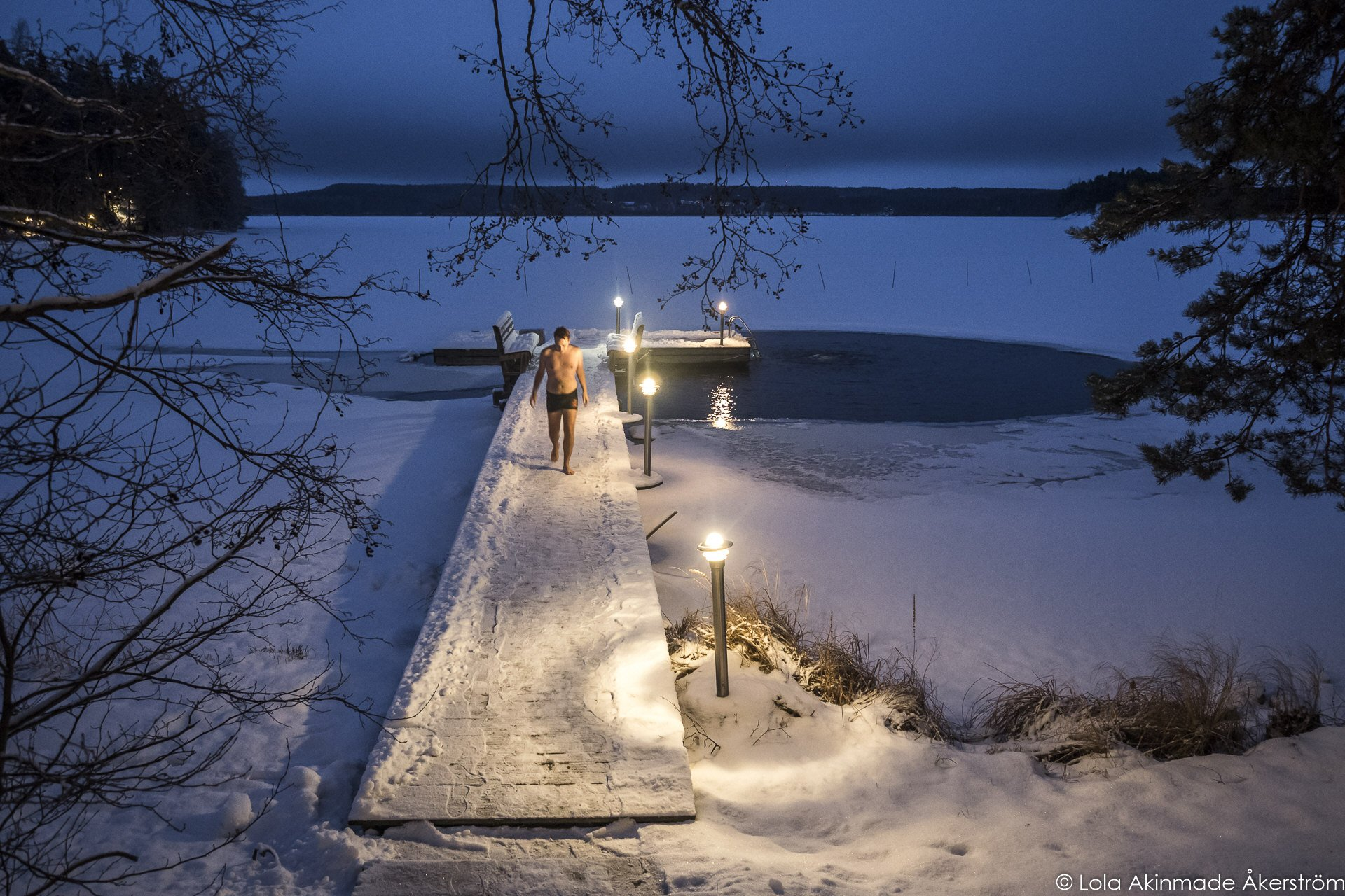 Finnish Sauna and Ice swimming in Finland