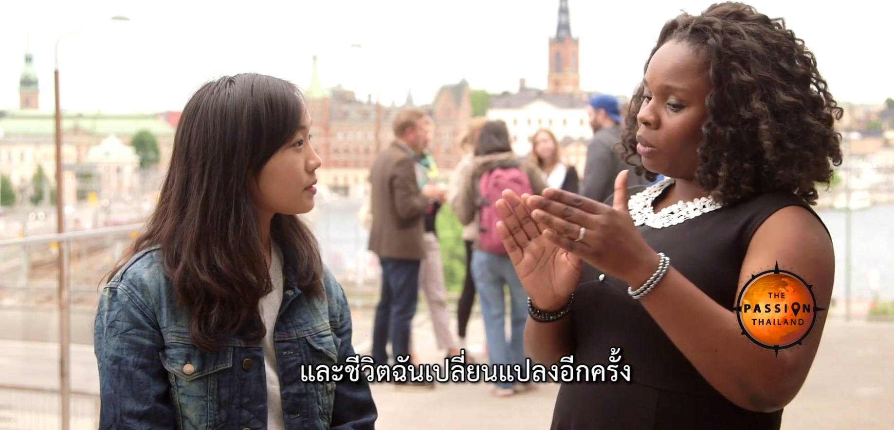 Video: What is your passion – Sharing mine on TV in Thailand