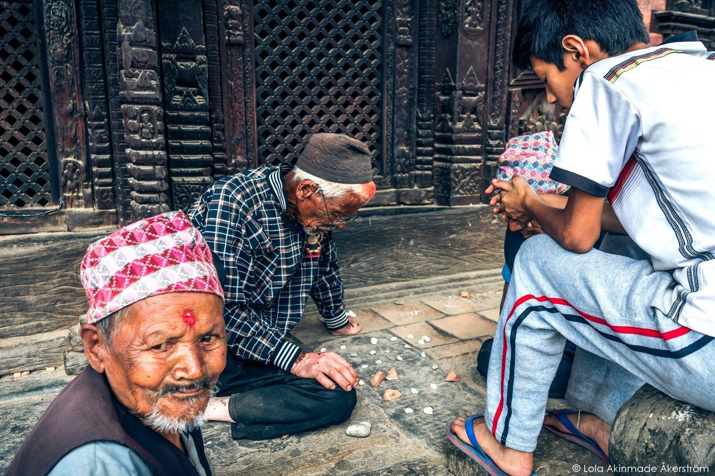 Postcard: Learning from Elders