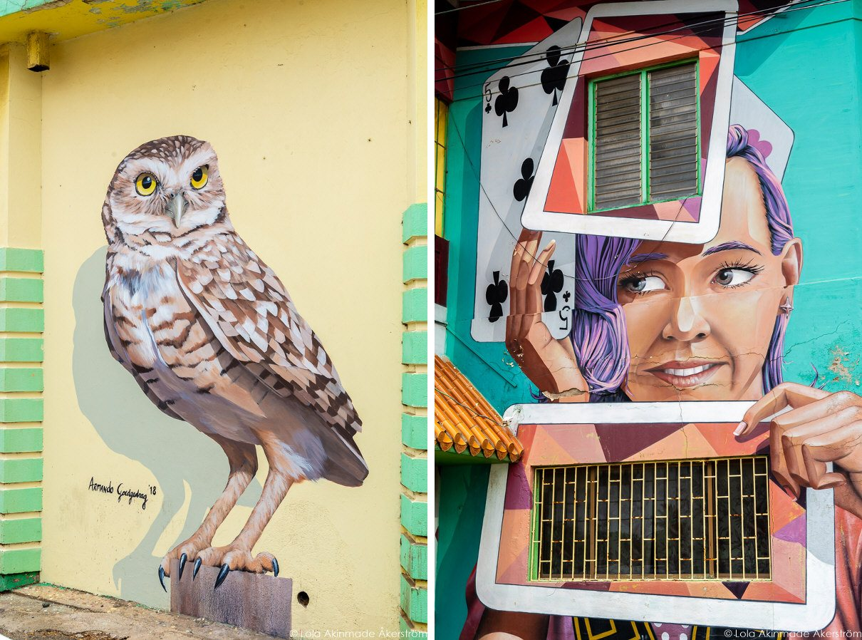 Street art in Aruba